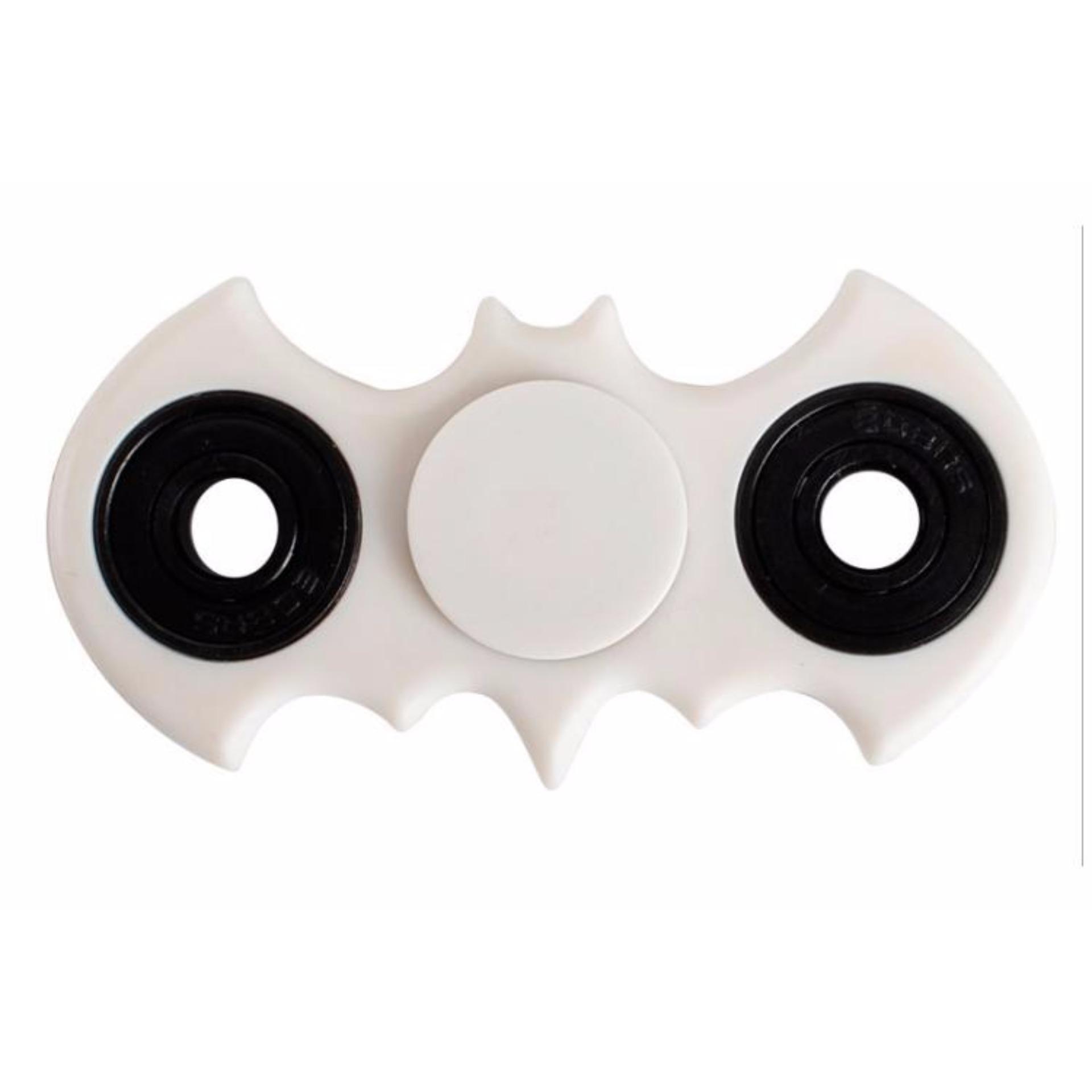 ... Batman Fidget Spinner Hand Toys Mainan EDC Ceramic Ball Focus Games Batman - Putih ...