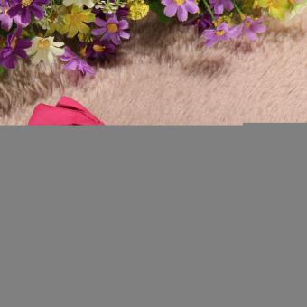 Bayi Balita Anak Gadis Cantik Serban Simpul Bando Kelinci Karet Rambut Naik Merah - 4