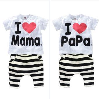 Bayi Baru Lahir anak pakaian anak Bayi were so adapula perempuan kaos + pakaian siap beroperasi