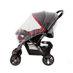 Bayi kereta dorong bayi Stroller Kereta Dorong Buggy kelambu nyamuk serangga terbang pelindung penutup - International