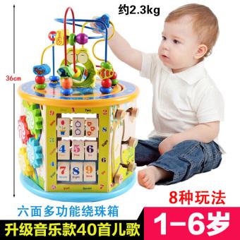 Bayi untuk pria dan wanita manik-manik pendidikan anak-anak multifungsi di sekitar manik