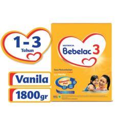 Bebelac 3 Bebenutri Plus Susu Pertumbuhan - Vanila - 1800 gr