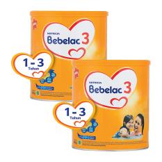 Bebelac 3 Bebenutri Plus Susu Pertumbuhan - Vanila 800 gr - Bundle 2 Kaleng