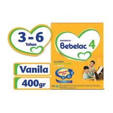 Bebelac 4 Bebenutri Plus Susu Pertumbuhan - Vanila - 400 gr