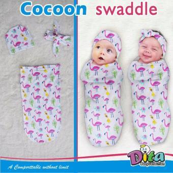 Bedong Instan Topi + Bandana Lucu Untuk Bayi - Bedong Lucu Bedong Imut Bedong Murah Bedong