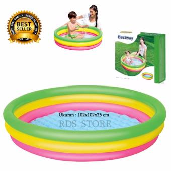 Bestway Kolam Renang Anak Summer Set Pool - 102 x 25 cm