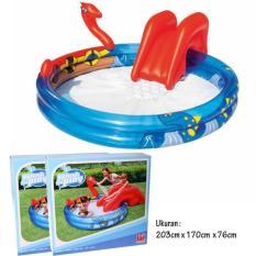 Bestway - Kolam Renang Anak Ular - Viking Pool Perosotan