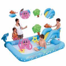 Bestway Kolam Renang Bermain Anak Fantastic Aquarium Play Pool Bestway 53052