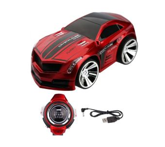BonBon Mainan Mobil Anak / Voice Command Car Smart Watch - Red