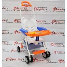 Chair stroller FAMILY FC-8288 ORANGE (Original)