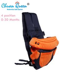 Chuan Queen Baby Carrier 4 In 1 Gendongan Bayi (Orange)