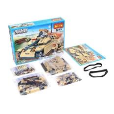 COGO 278PCS Military Army Tank Model Building Brick Block Toys Educational DIY Set - intl