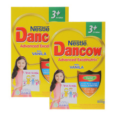 DANCOW ADVANCED EXCELNUTRI 3+ Vanila Box 800g - Bundle Isi 2 Box