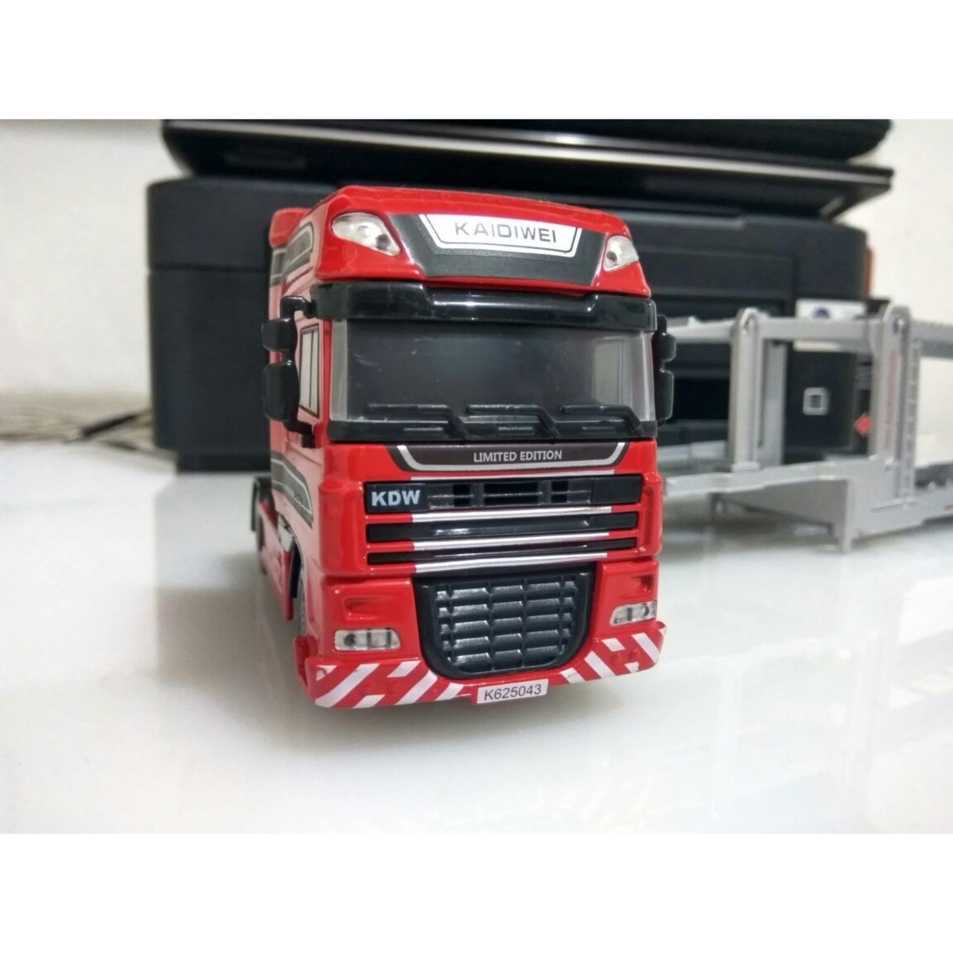 Pelacakan Harga Diecast Carrier Trailer Truck 1 50 Truk 64 Aksesoris Pengangkut Kendaraan