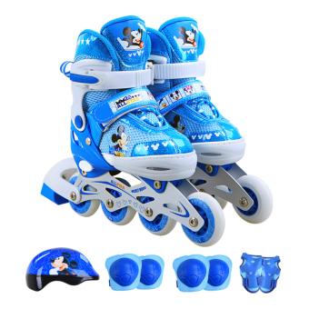 Disney Penuh Anak Laki Laki Dan Perempuan Skating Sepatu Sepatu Roda ... 1812c7e221