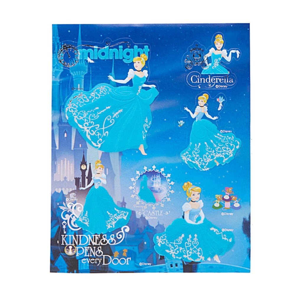 ... Disney Princess Disney 3D Flocking Stickers ...