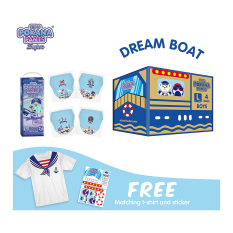 [DREAM BOAT BOX] Pokana Super Pants Boy L26 isi 4 + FREE Matching T-shirt and sticker