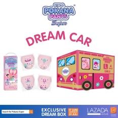 [DREAM CAR BOX] Pokana Premium Pants Girl L26 isi 4 + FREE matching sticker