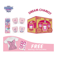 [DREAM CHARIOT BOX] Pokana Super Pants Girl XL22 isi 4 + FREE Matching T-shirt and sticker¬Ý