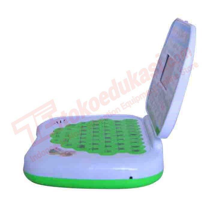 emyli mainan edukasi laptop 2 bahasa INDONESIA - ENGLISH - HIJAU ...