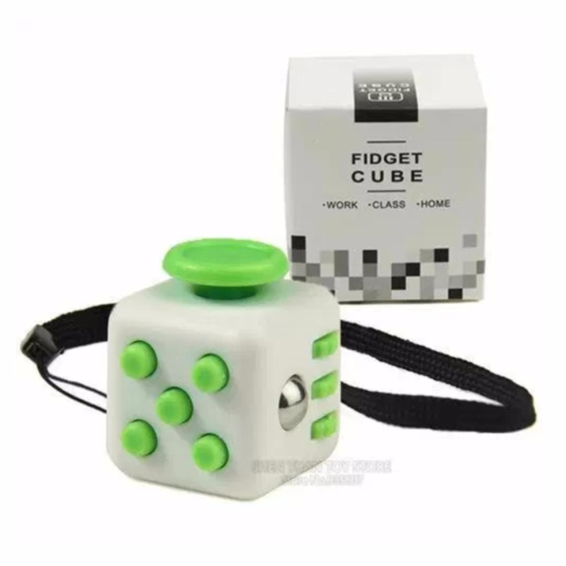 Fidget Cube Kickstarter Finger Toys Therapy Mainan Vinyl Desk Stress Sohoku Spinner Anti Model Batman Relief Random