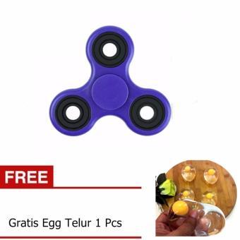 Fidget Spinner Hand Toys Focus Games / Mainan Spinner TanganPenghilang Kebiasan Buruk - Random Colour -