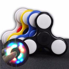Fidget Spinner LED Spinner LED Biru Babamu
