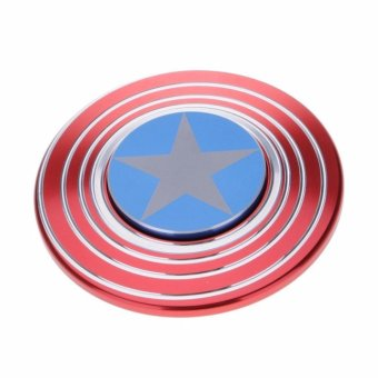 ... Harga Fidget Spinner Model Captain America Mainan Spinner Tangan Penghilang Kebiasan Buruk Murah Dokuprice