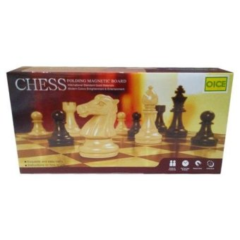 Fio-Online - Chess Folding Magnetic Board - Mainan Catur