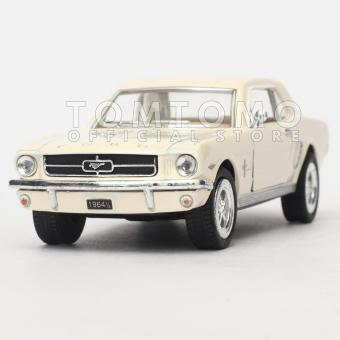 Ford Mustang 1964 Diecast Miniatur Mobil Mobilan Klasik Antik Kado Mainan Anak Cowok Laki Kinsmart Tomtomo