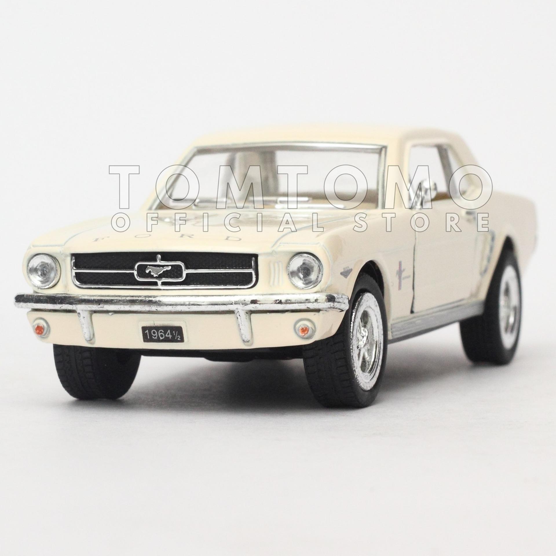 Periksa Peringkat Ford Mustang 1964 Diecast Miniatur Mobil Mobilan