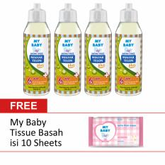 [Free Tissue Basah] My Baby Minyak Telon Plus 60 mL [isi 4]