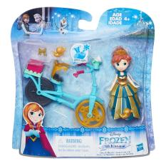 Frozen Small Doll Accessory Anna Biking