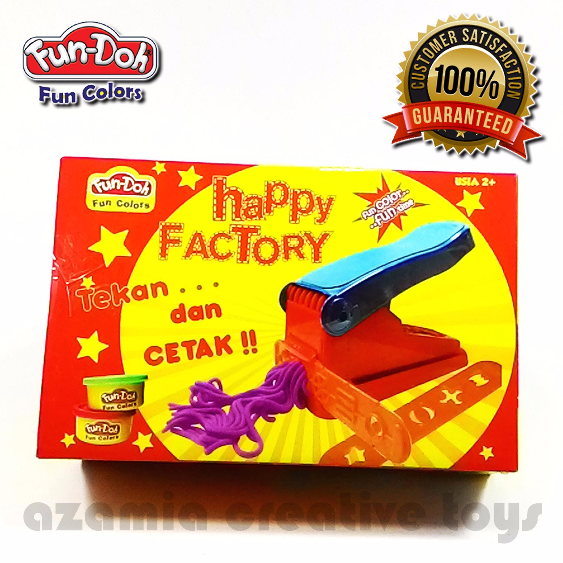 FUN DOH LILIN MAINAN ANAK HAPPY FACTORY .