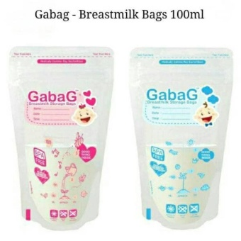 Gabag Kantong ASI BPA Free - Breastmilk Storage Bag Newborn 100ml - 25 .