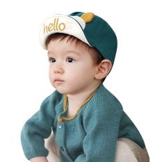 Gadis Topi Anak Lucu Yang Dapat Membuat Orang Yang Melihatnya Tertawa Terbahak-bahak atau Justru Kesal Karena Merasa Topi Baseball Matahari (Hijau)