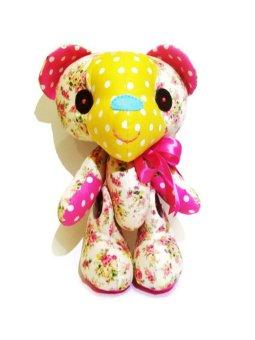 Happy Pelangi Craft Boneka Teddy Bear Pink