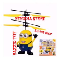 Helicopter Drone Minions Sensor Tangan Flying Toys