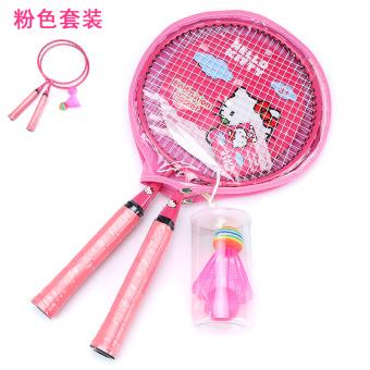 Harga Hello Kitty anak anak raket bulutangkis raket lingkaran besar raket tenis Online Terjangkau