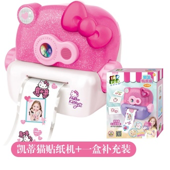 Harga Hello Kitty anak anak stiker mesin mesin jahit tembikar Online Terbaru