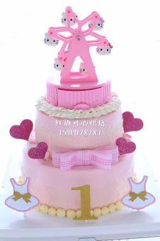 Petunjuk Hello Kitty Kue Ulang Tahun Kue Kebahagiaan Jingle