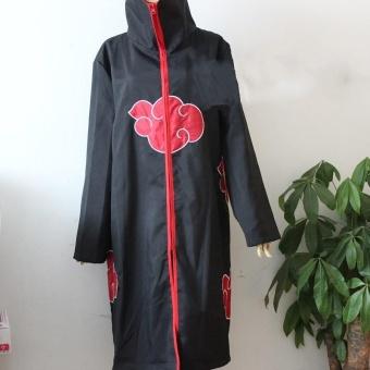 Detail Gambar Hot Anime Naruto Akatsuki Cosplay Costumes Uchiha Itachi PainCloak-XL - intl dan