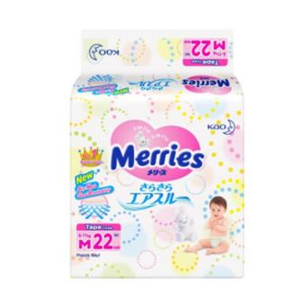 Hot Deal - MERRIES Premium Popok Tape M 22