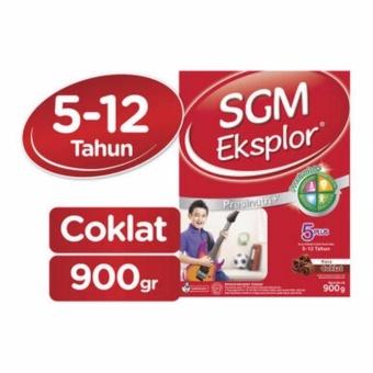 Hot Deal - SGM Eksplor 5+ Susu Coklat Box - 900gr