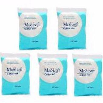 Hot Item - Medisoft Cotton Ball 120pcs - Kapas Bulat - 5 Bks