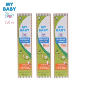 Hot Item - My Baby Minyak Telon Plus - 150 ml - 3 pcs