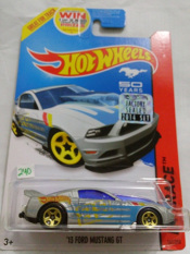Hot Wheels - 13 Ford Mustang GT Silver 50 Years Mustang Factory