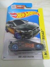Hot Wheels - 2008 Lancer Evolution Black Tampo Maximum Attack
