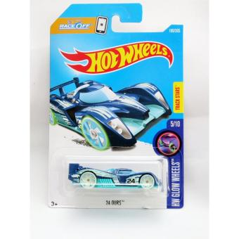 Harga Hot Wheels 24 Ours biru Online Terbaik
