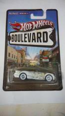 Hot Wheels - 55 Corvette White Boulevard